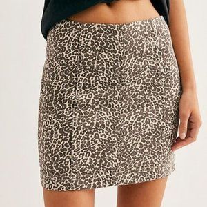 Free People Modern Femme Novelty Skirt
